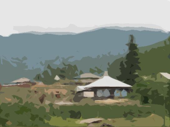 Altai village Shebalino